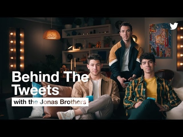 BehindTheTweets with Jonas Brothers | Twitter
