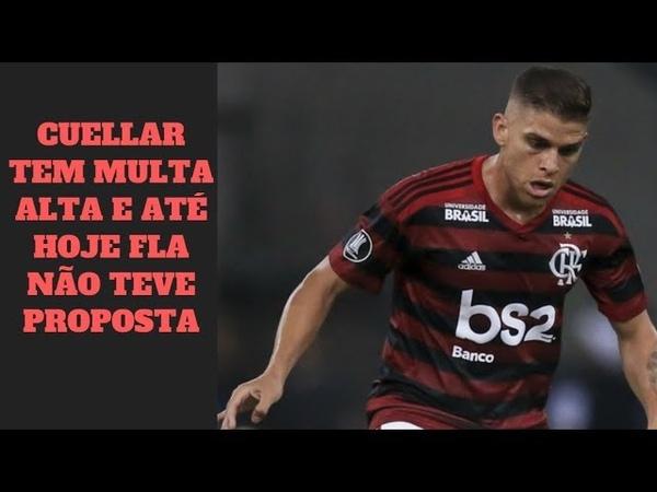 Boatos preocupam torcedores do Flamengo, mas hoje não há proposta por Cuellar