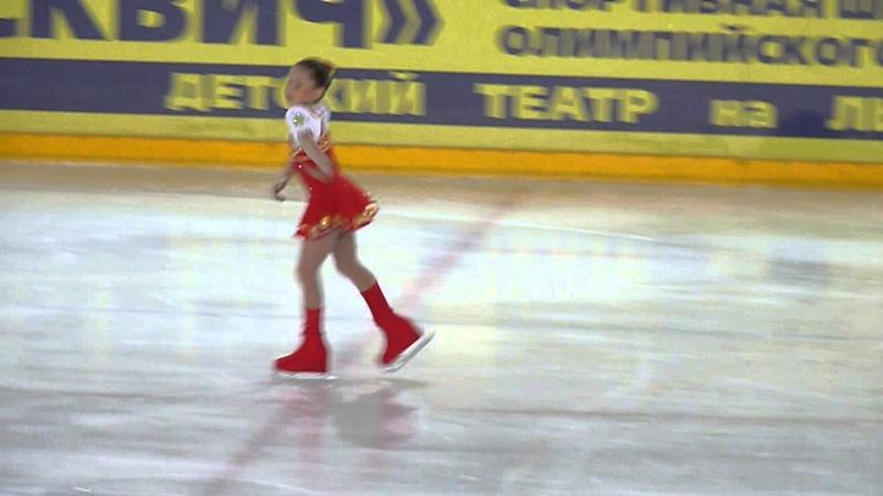 Камила Валиева, КП, Первенство Москвы (мл.возраст) 2015