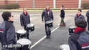 """Grid Book Percussion on Instagram """" GridBookFireFeature Enjoy some InThelot rehearsal with the 2015 @performredline Snare Line!⠀ ⠀ GridBookP"""