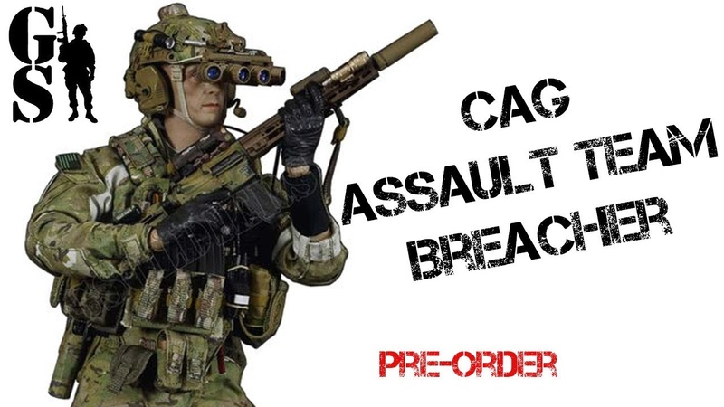 Combat Applications Group Breacher 1 6 scale action figure by Easy SImple pre order