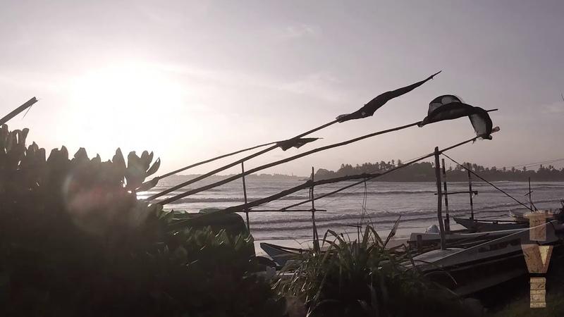Sri lanka in a tuk tuk. On the outskirts.