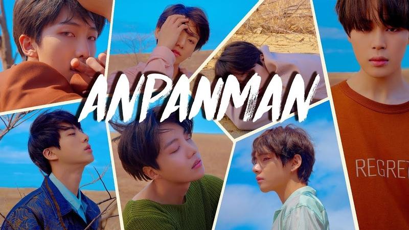 [RUS SUB] BTS - Anpanman