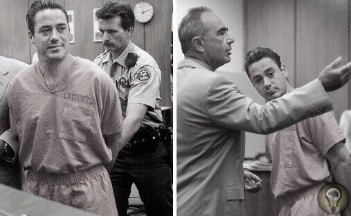 Роберт Дауни-младший в суде по обвинению в хранении героина, кокаина и огнестрельного оружия, найденных в его машине
