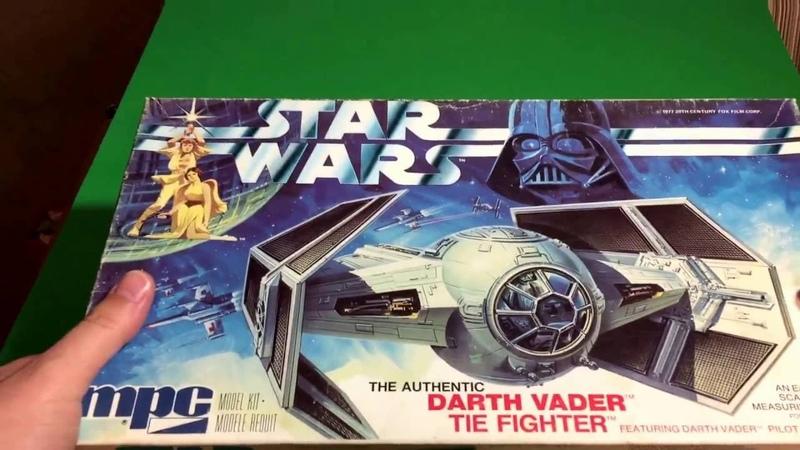 Plastic Model Kit Review: Vintage MPC Star Wars Darth Vader's Tie-Fighter, circa 1978