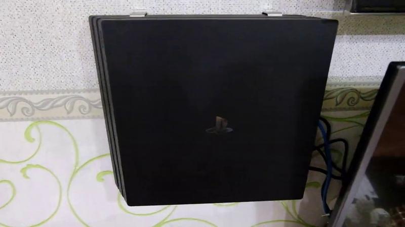 Настенное крепление для PS4 (pro, slim, fat)
