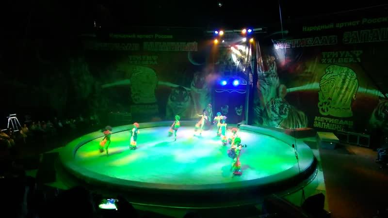 балет цирк запашного Клоуны