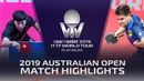 Ma Long vs Dimitrij Ovtcharov | 2019 ITTF Australian Open Highlights (R16)