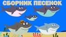 Детские развивающие и обучающие песенки Сборник песенок Акуленок Грузовик Енот Динозавр