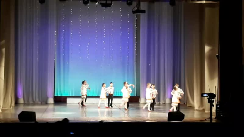 Марийский танец ДК Ленина