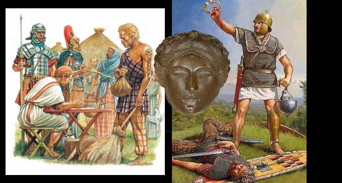 Римляне победили кельтов