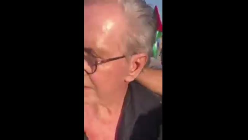 L'auteur et journaliste allemand, Jürgen Todenhöfer, touché par des snipers sionistes juifs à Gaza