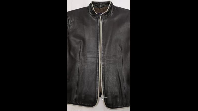 Куртка темно коричневая Paris