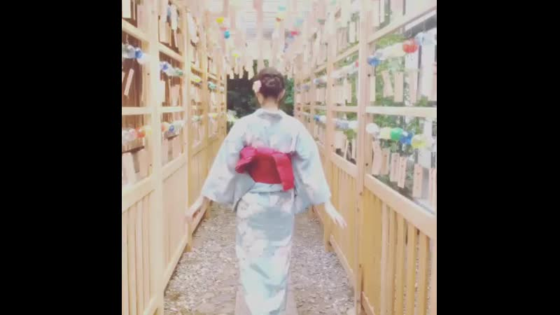Non-no on Instagram 2019.06.25. 浴衣 ゆかたではんなり夏散歩