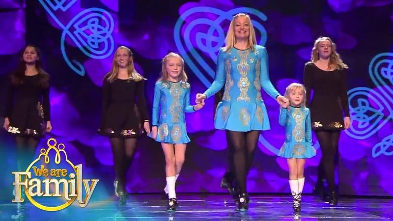 De Ierse dans van de Riverdance familie   We Are Family 2015   SBS6