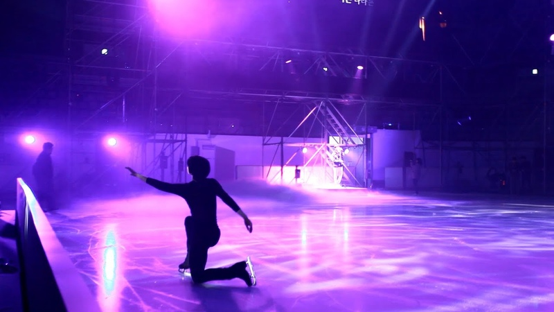  190501  VIXX Hyuk x Cha Jun-hwan - Boy with a star Practice video @ LG ThinQ ICE FANTASIA 2019
