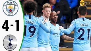 Manchester City vs Tottenham 4-1 - Highlights & Goals Resumen & Goles 2019 (Last Match)