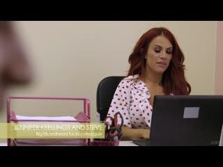 Экономист трахнул рыжую бухгалтершу после работы, milf old mom sex job boss porn home bustu tit ass redhead love (hot&horny)