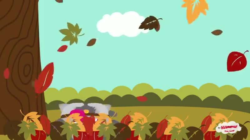 Autumn Leaves Are Falling Down _ Fall Song _ Preschool Songs _ The Kiboomers