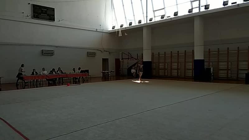 Чупракова Оксана мяч