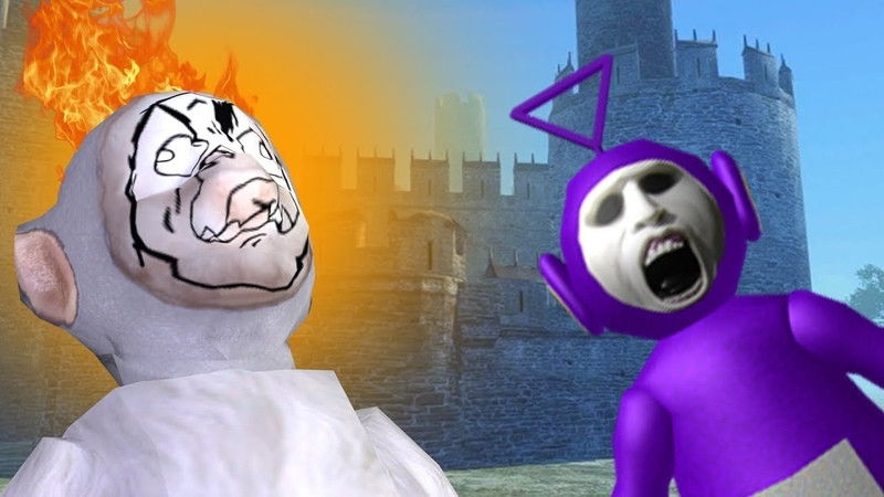 Slendytubbies III Some hackers