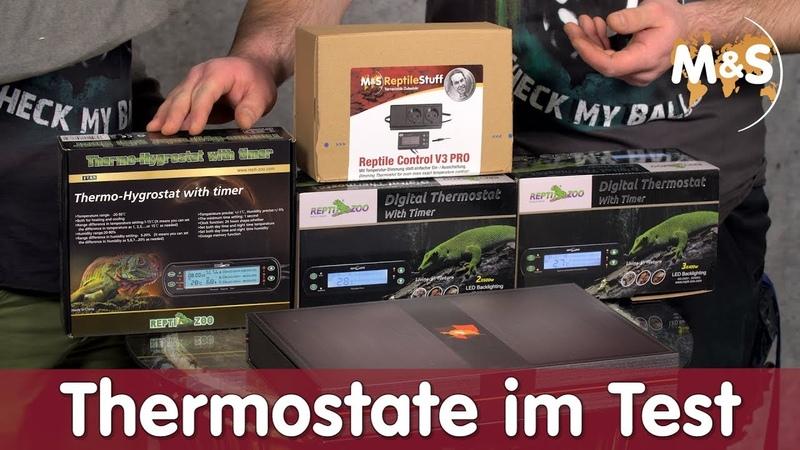 Тест терморегуляторов для террариумов от Reptil TV