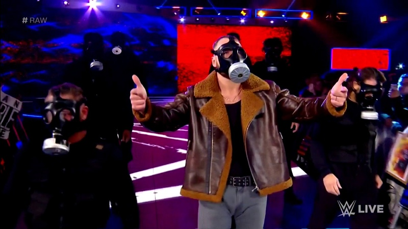 Dean Ambrose's Heel SWAT Entrance with The Vengeful One Theme Song WWE Raw 12 3 18 Edited