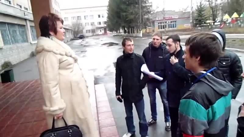 Майдановец Хорт пришел за детским врачом Татьяной Антонец 17 марта 2014 го