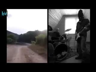 Три грузинские девушки из группы trio mandili спели песню, а парни из норвегии с