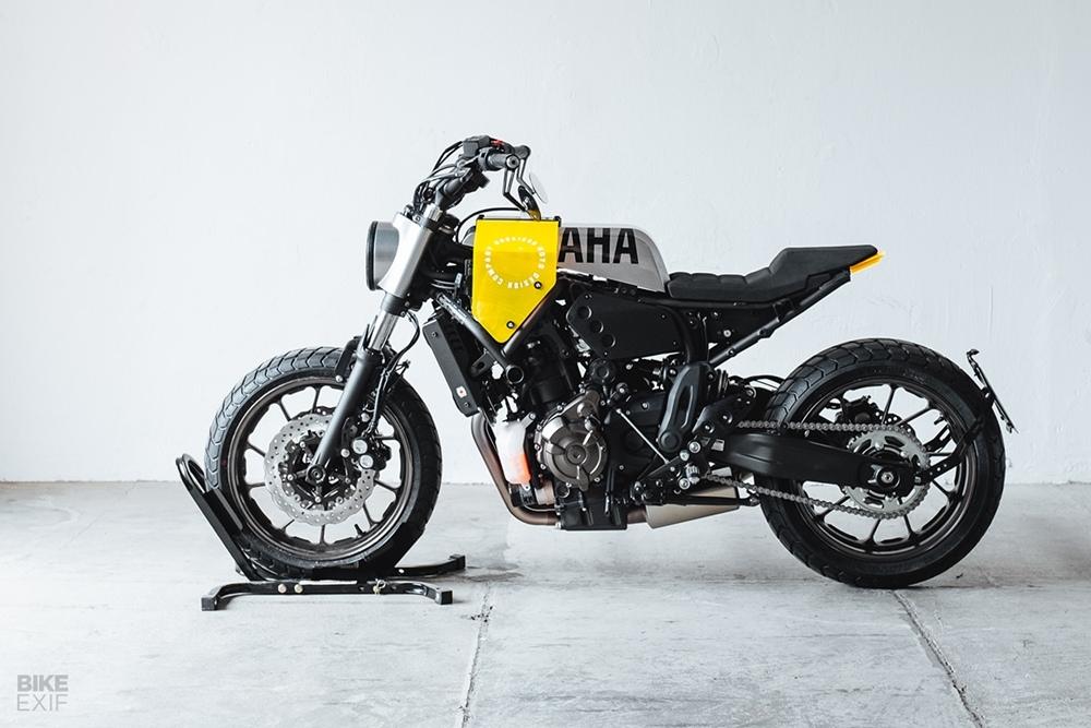 Hookie x Yard Build: кастом Yamaha XSR700  «Кузьнечик» / «Grasshopper»