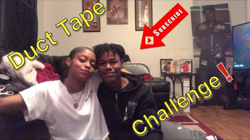 Duct Tape Challenge! 😂