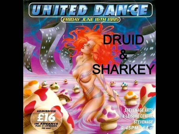 DJ Druid Mc Sharkey @ United Dance 16th June 1995