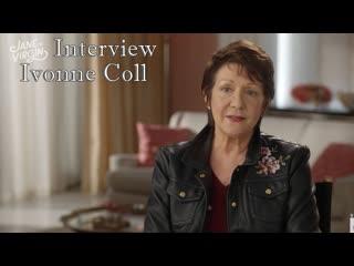 Девственница Джейн 5 сезон - Интервью Ивонн Колл (Рус. суб.)