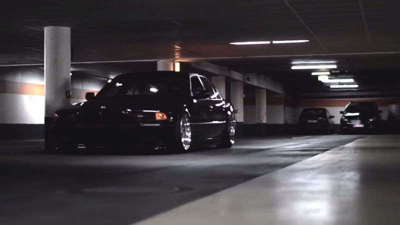 BAGGED BMW 7 40 E38 STANCE Mpower