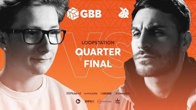 RYTHMIND vs BALANCE Grand Beatbox Battle 2019 LOOPSTATION 1 4 Final