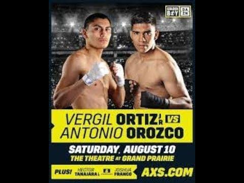 Fight Night Champion Вёрджил Ортис - Антонио Ороско (Vergil Ortiz Jr - Antonio Orozco)