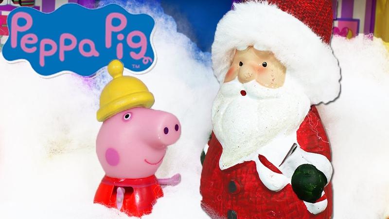 Peppa Pig Episodio Italiano con Giochi La Capanna di Babbo Natale