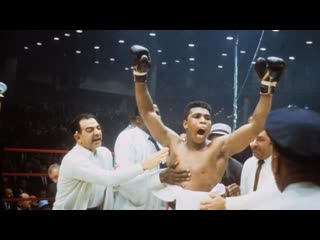 """Muhammad ali: """"the champ is here"""""""