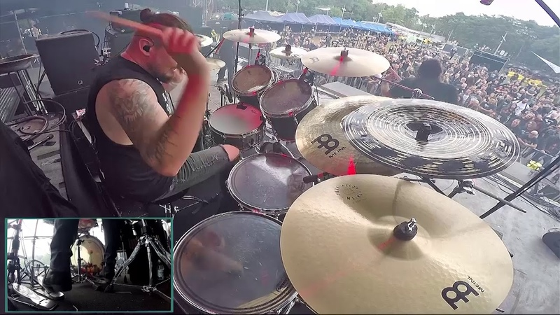 SYMBOLICAL@Pseudo Master-Daray-Live in Poland 2018 (Drum Cam)