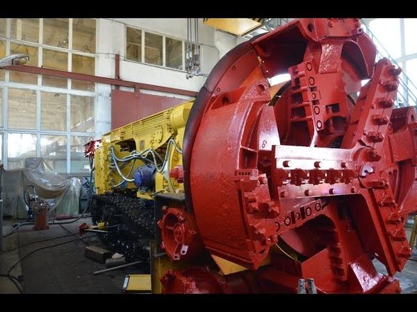 Комбайн роторный проходческий КРП-3-6601140