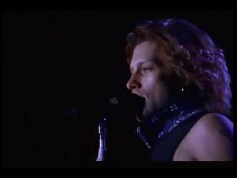 Bon Jovi - This Ain't A Love Song (London 1995)