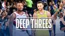Best Deep Threes From Stephen Curry Damian Lillard!   2018-19 NBANews NBA NBAPlayoffs Blazers Warriors