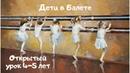 ПАРТЕРНАЯ ГИМНАСТИКА - первый год обучения классическому танцу