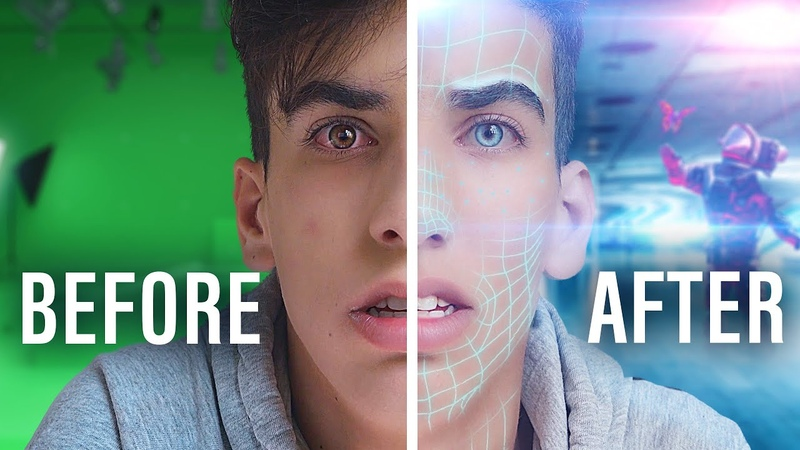 Video Editing Before and After: After Effects Behind the Scenes (VFX)   Roy Adin