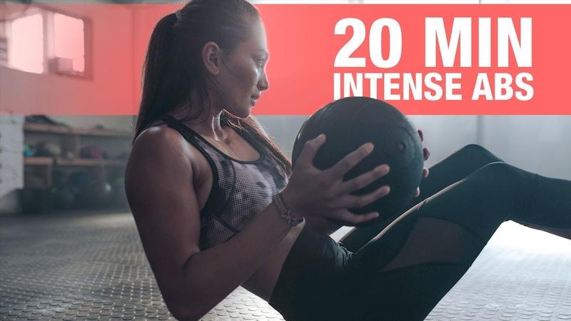20 Minute INTENSE ABS Workout (FOLLOW ALONG)