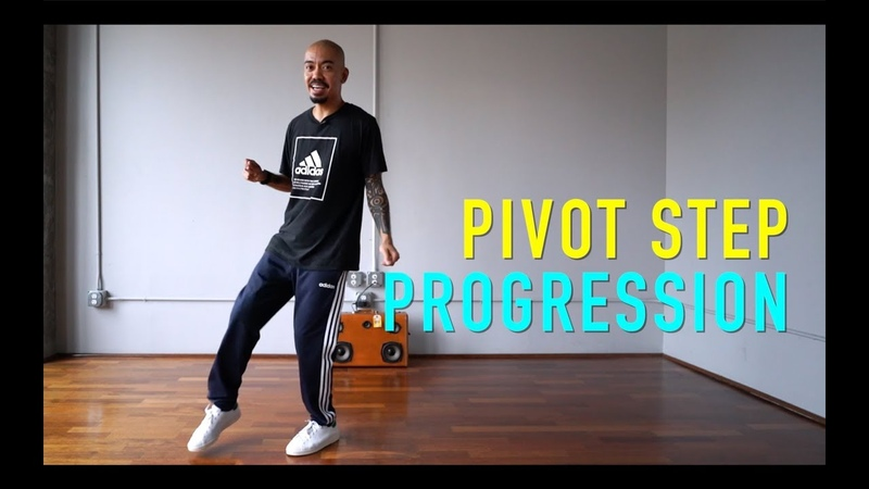 House Dance Tutorial - Pivot Step Progression (Watch Till The End!)