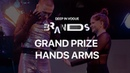 Grand Prize Hands VS Arms | Deep in Vogue. Brands 2019