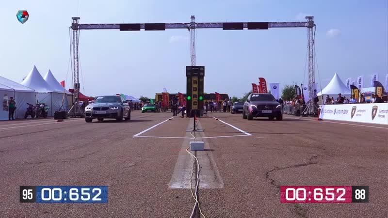 950hp Mercedes GLC 63s GAD vs 1000hp BMW X5M 900hp GT R M5 f90 Unlim 500 hig