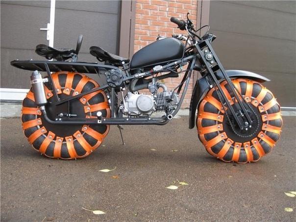 Полноприводный мотоцикл - Васюган 2х2