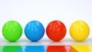 НАБОРЫ ИГРУШЕК. Цветные шарики и кубики превращаются в игрушки. Учим цвета с любимыми игрушками.
